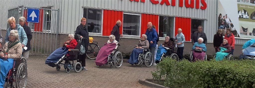 rolstoelwandeling borne